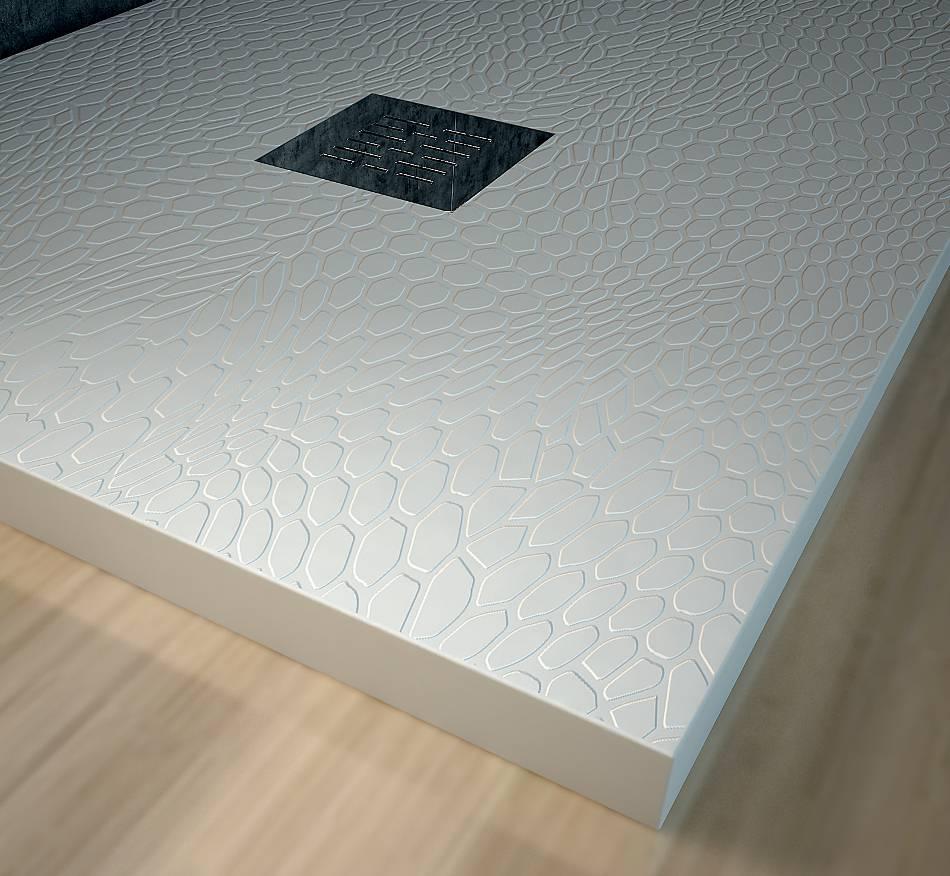 Platos de ducha en resina y cargas minerales marca nudespol for Colores de platos de ducha de resina