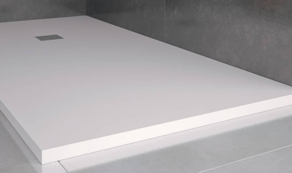Platos de ducha en resina y cargas minerales marca nudespol for Reparar plato de ducha de resina